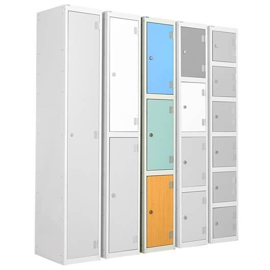 Picture of Three Tier Laminate Door Lockers