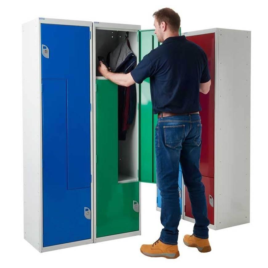 Picture of Steel Z-Door Lockers