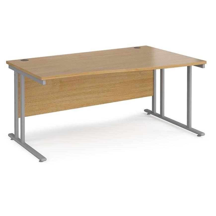 Picture of Maestro Desking - Wave Desk - Beech Worktop